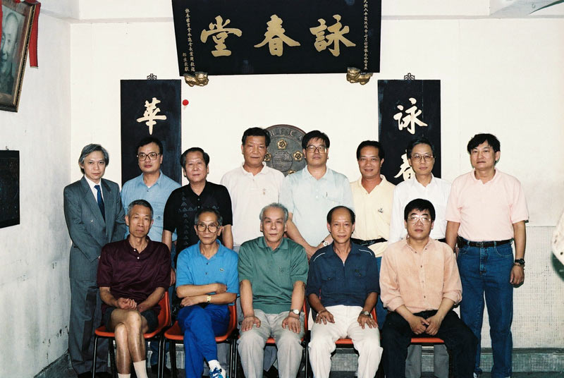 From Left to Right (from the second man): Fung Ping Po, Leung Pang, Yip Ching, Siu Yuk Man, Man Yim Kong, Chan Wai Hong, Lau Hon Lam, Chui Shang Tin, Yip Chun, Lok Yiu, Lo Man Kam, Lau Kung Shing