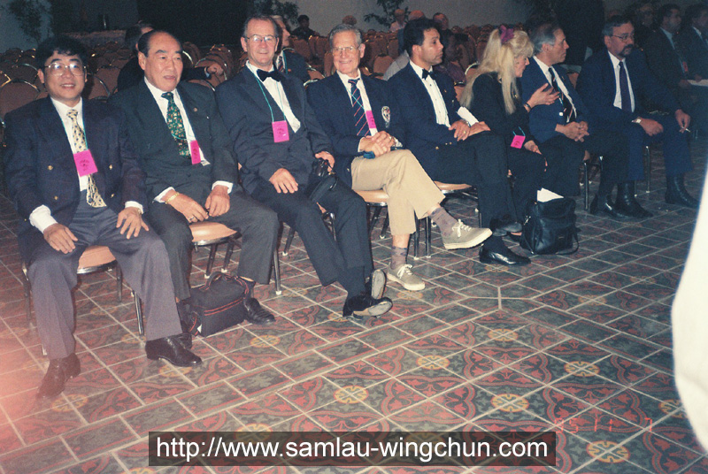 Sam Lau, Tony Tsang and WBC presidents of member states of EU