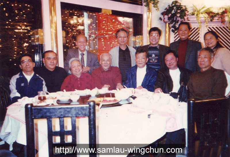 Discussion with Wong Chun Leung and others before leaving for Beijing  to popularize Wing Chun