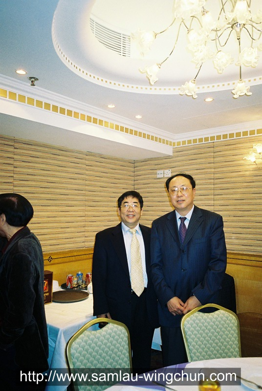 Wang Xiaolin, Chairman of the Chinese Wushu Assn.