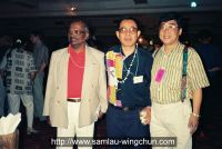 Sam lau, the president of martial arts associations in Thailand and Sri Lanka